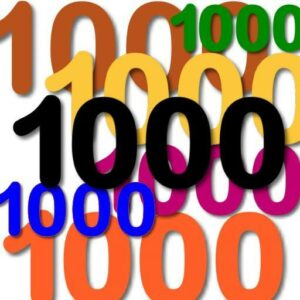One thousand thanks to one thousand Skellefteå families!